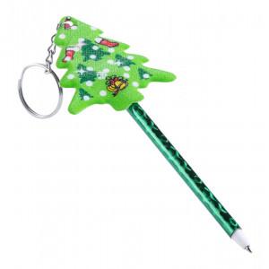 kuličkové pero s přívěškem na klíče