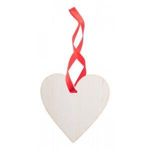 vánoční ozdoba, srdce