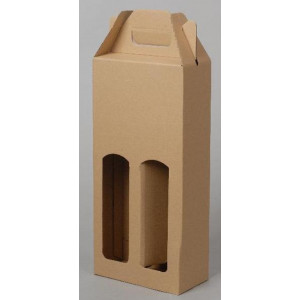 Krabice na láhve 16,5x8x34,5 cm