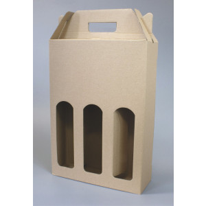 Krabice na láhve 24x8x34,5 cm
