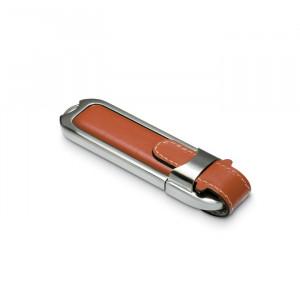Luxusní USB disk s kůží.