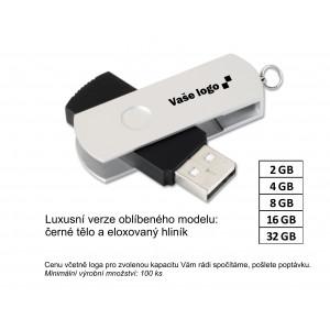 Reklamní USB flash disk SILVER.