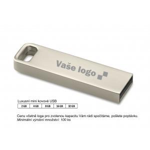 Luxusní mini kovové USB .