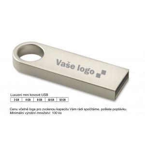 Luxusní mini kovové USB NUDO.