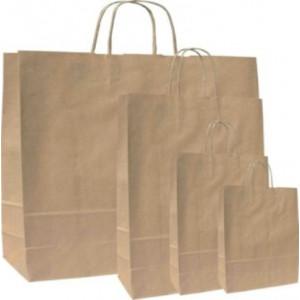 Papírová taška Natura EKO 18x8x25 cm