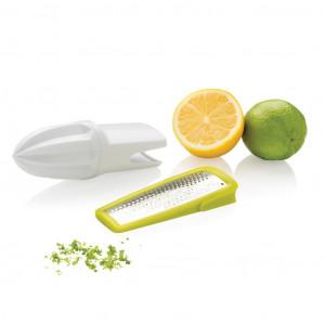 Struhadlo a odšťavňovač na citrusy, bílá