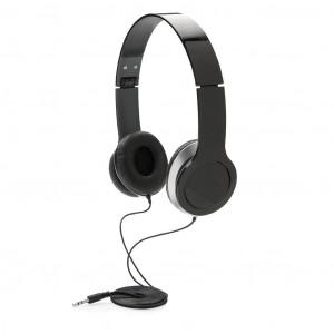Základní sluchátka, černá