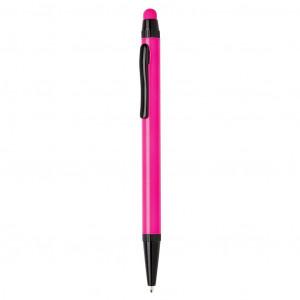 Tenké hliníkové stylusové pero, růžová