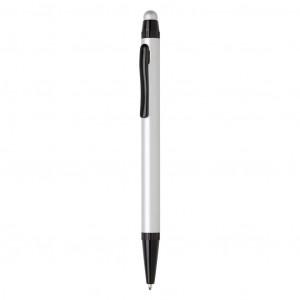 Tenké hliníkové stylusové pero, stříbro