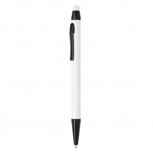 Tenké hliníkové stylusové pero, bílá