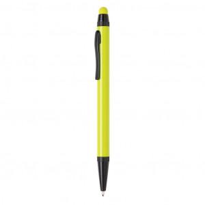 Tenké hliníkové stylusové pero, vápno zelené