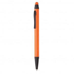 Tenké hliníkové stylusové pero, oranžová