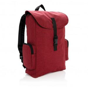 """Batoh na 15"""" notebook spřezkou, červená"""