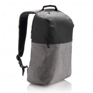 Dvoutónový batoh na notebook, šedá