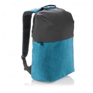 Dvoutónový batoh na notebook, modrá