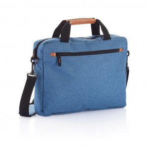 Módní dvoubarevná taška na notebook