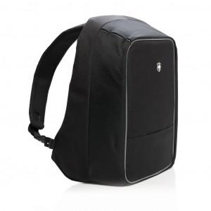 """Batoh na 15,6"""" notebook s ochranou proti vykradení, černá"""