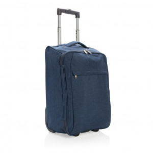 Dvoutónový skladný kufřík, modrá