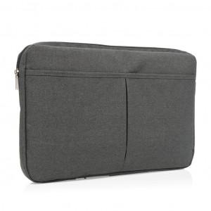 """Obal na 15"""" notebook, bez PVC, černá"""