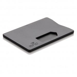 Obal na karty s RFID ochranou, černá