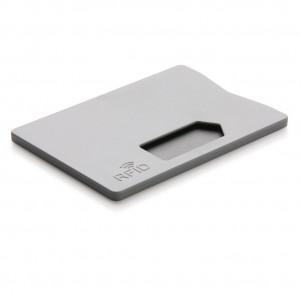 Obal na karty s RFID ochranou, šedá