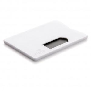 Obal na karty s RFID ochranou, bílá