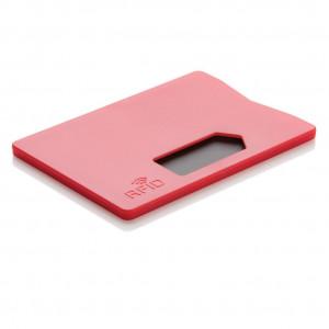 Obal na karty s RFID ochranou, červená