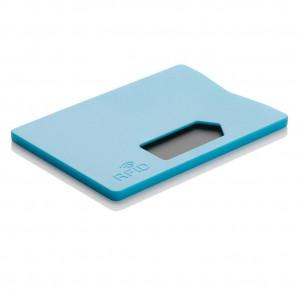 Obal na karty s RFID ochranou, modrá