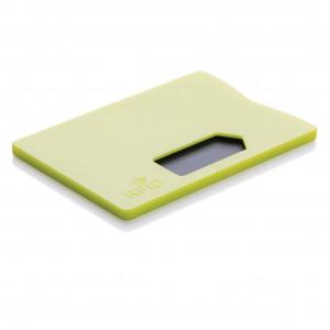 Obal na karty s RFID ochranou, vápno zelené
