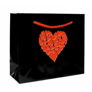 Papírová taška Valentýn 21x8x18 cm